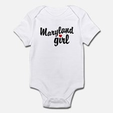 Maryland Girl Infant Bodysuit