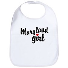 Maryland Girl Bib