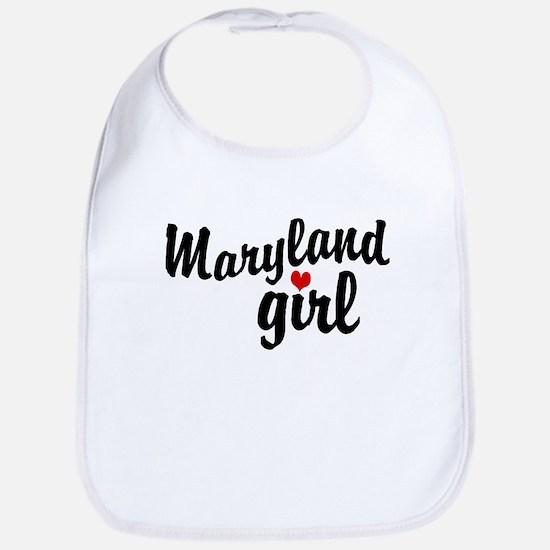 Maryland Girl Bib