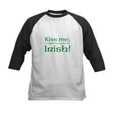 Kiss me, I might be a wee bit Irish! Baseball Jers