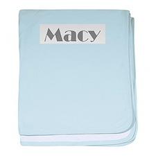 Macy 2 baby blanket