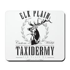 Elk Plain Taxidermy Mousepad