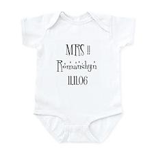 MRS !!  Romanshyn   11.11.06 Infant Bodysuit