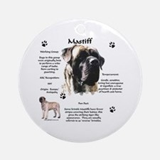Brindle 11 Ornament (Round)