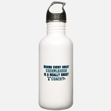 Cute Cheer coach Water Bottle