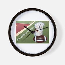 It's Football Season Wall Clock
