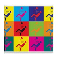 Cute Geek humor Tile Coaster