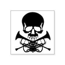 Skull with Trumpets Sticker
