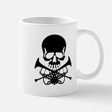 Skull with Trumpets Mug
