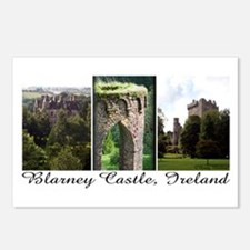 Blarney Castle, 3 vert. photos Postcards (Package