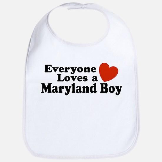 Everyone Loves a Maryland Boy Bib