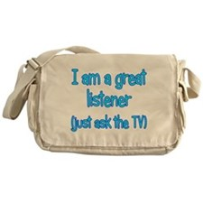 Great TV Listener Messenger Bag