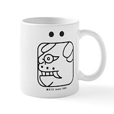 WHITE Lunar DOG Mug