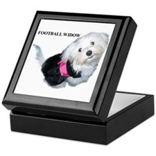 Football Widow Keepsake Box