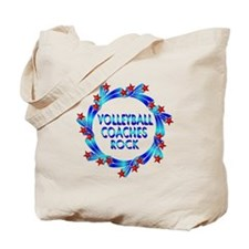 Volleyball Coaches Rock Tote Bag