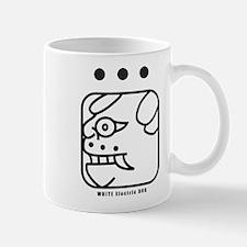 WHITE Electric DOG Mug