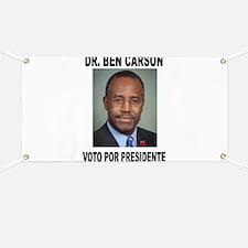 CARSON POR PRESIDENTE Banner