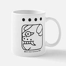 WHITE Self-Existing DOG Mug