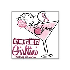 Dirty Girltini (For the Girls) Sticker