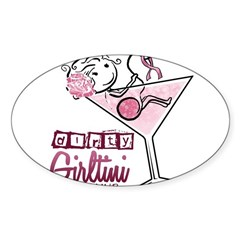 Dirty Girltini (For the Girls) Decal