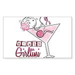 Dirty Girltini (For the Girls) Sticker