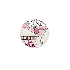 Dirty Girltini (For the Girls) Mini Button (100 pa