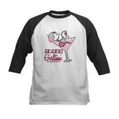Dirty Girltini (For the Girls) Baseball Jersey