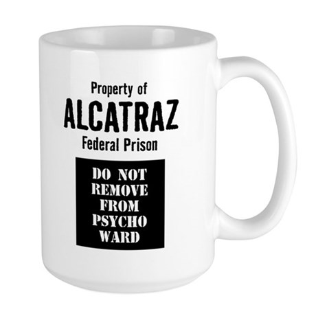 Property of Alcatraz Large Mug