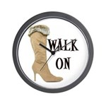 Walk On Wall Clock