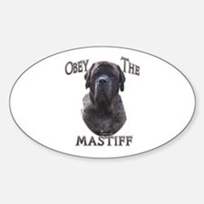 Brindle 9 Oval Decal