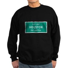 Houston, Texas City Limits Sweatshirt