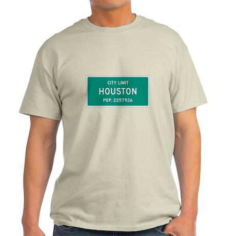 Houston, Texas City Limits T-Shirt