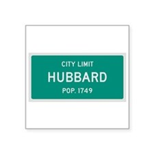 Hubbard, Texas City Limits Sticker