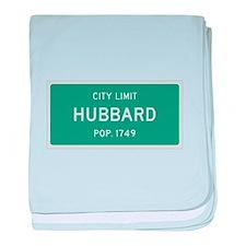 Hubbard, Texas City Limits baby blanket