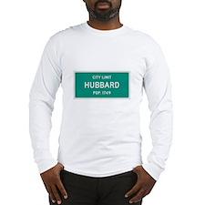 Hubbard, Texas City Limits Long Sleeve T-Shirt