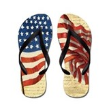 4th of july flip flops Flip Flops