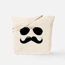 Macho Mustache Tote Bag