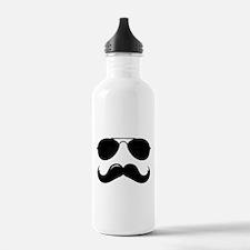 Macho Mustache Water Bottle