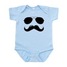 Macho Mustache Infant Bodysuit