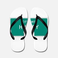 Huxley, Texas City Limits Flip Flops