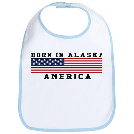Born In Alaska Bib