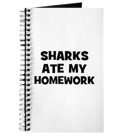 Sharks Ate My Homework Journal