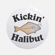 Kickin' Halibut Ornament (Round)