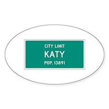 Katy, Texas City Limits Decal