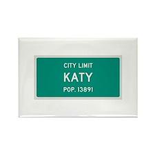 Katy, Texas City Limits Rectangle Magnet
