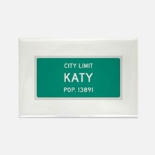 Katy, Texas City Limits Rectangle Magnet