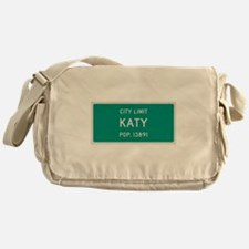 Katy, Texas City Limits Messenger Bag