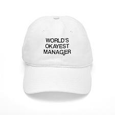 World's Okayest Manager Baseball Cap