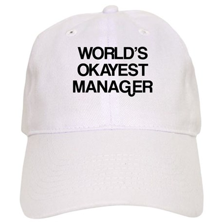 World's Okayest Manager Cap