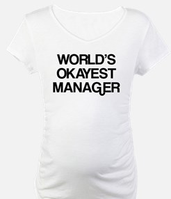 World's Okayest Manager Shirt